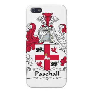 Paschall Family Crest iPhone 5 Cover