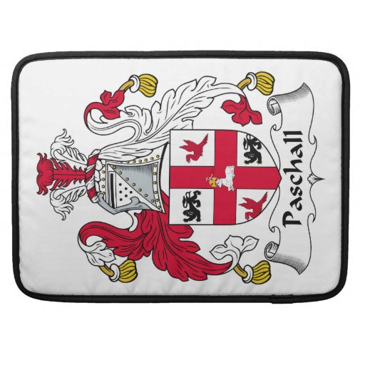 Paschall Family Crest Sleeve For MacBooks