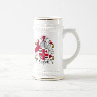 Paschall Family Crest Mugs