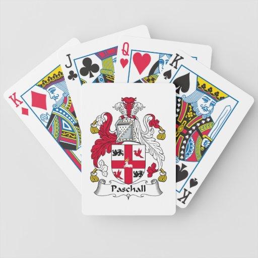 Paschall Family Crest Card Decks