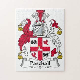 Paschall Family Crest Puzzles