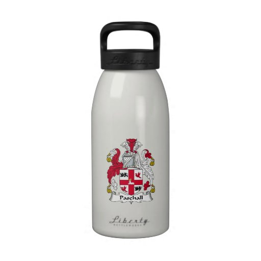 Paschall Family Crest Drinking Bottle