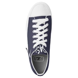 Pash Premium Low-Top Zipz Printed Shoes