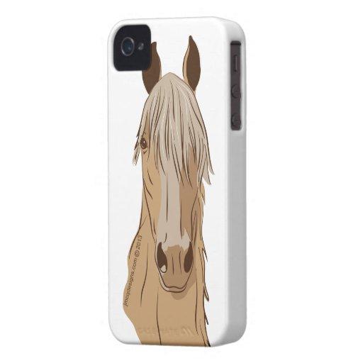 Paso Fino Horse Face iPhone 4 Case-Mate Case