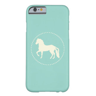Paso Fino Horse Silhouette Barely There iPhone 6 Case