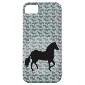 Paso Fino Silhouette Pattern iPhone 5 Covers