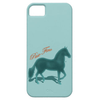 Paso Fino Teal Silhouette Shadow Barely There iPhone 5 Case
