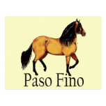 Paso Horse Buckskin Paso Fino