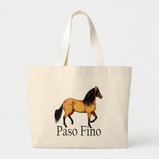 Paso Horse Buckskin Paso Fino Canvas Bags