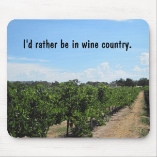 Paso Robles, California, Wine Country Mouse Mat