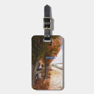 Paso Robles Train Station in Autumn Luggage Tag