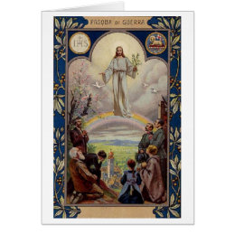 Italian religious easter gifts on zazzle uk vintage italian easter card negle Image collections