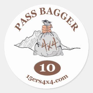 Pass Bagger 10 Sticker