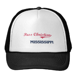 Pass Christian Mississippi City Classic Hat