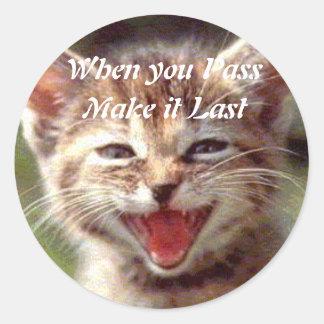 Pass n Last Sticker