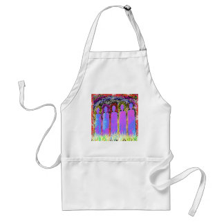 Pass on Memorial - Add Text Names n Gratitude Adult Apron