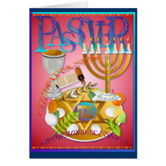 Pass Over Seder Card
