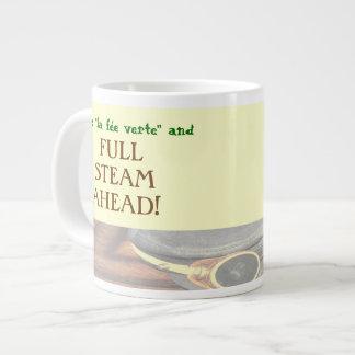 "Pass the ""Green Fairy"" and FULL STEAM AHEAD! Jumbo Mug"