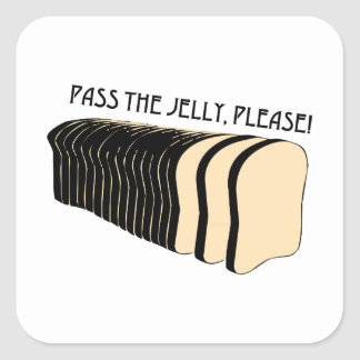 Pass the Jelly Sticker