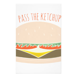 Pass The Ketchup Stationery