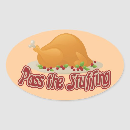 Pass the stuffing stickers
