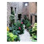 Passageway in La Turbie, France Postcard