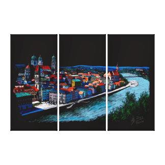 Passau Canvas Print