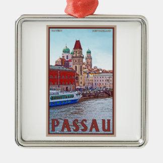 Passau - Donau Waterfront Christmas Ornament