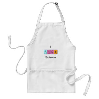Passed science periodic table name apron