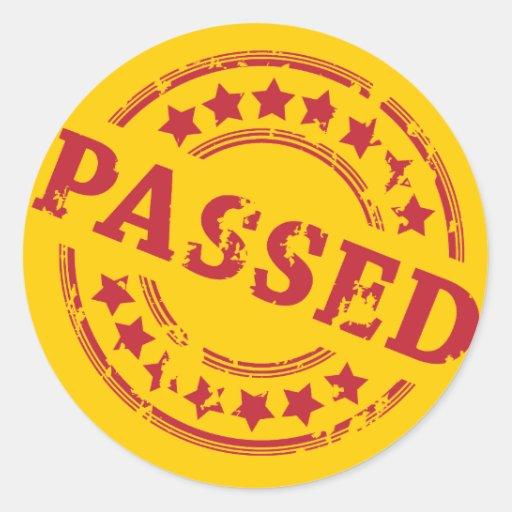 Passed Round Stickers