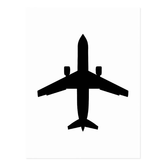 passenger Aeroplane Postcard