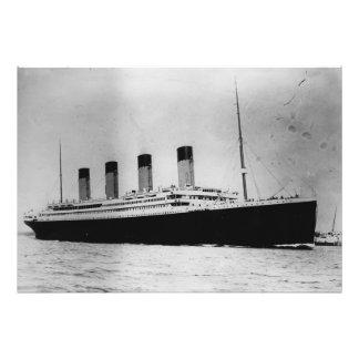 Passenger Liner Steamship RMS Titanic Photograph