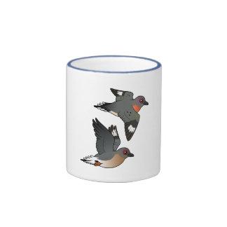Passenger Pigeon Flight Ringer Mug