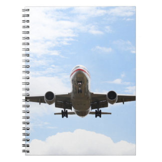 Passenger Plane Note Book
