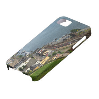 Passenger train in coarse home on the Rhine iPhone 5 Cover