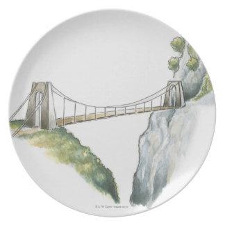 Passerelle Plate