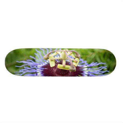 Passiflora Flower Skateboard Deck