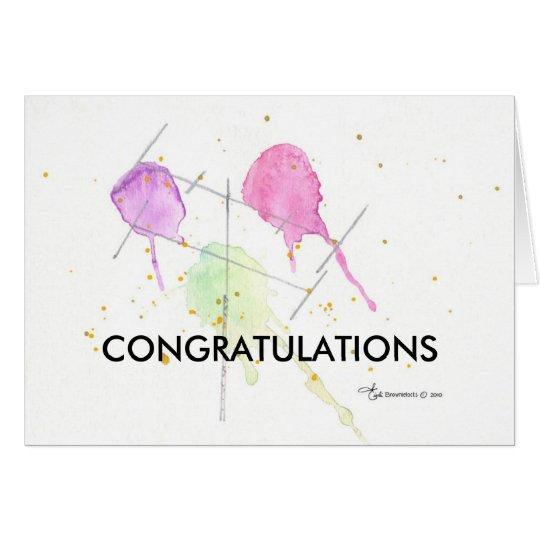 Passing Exam Congratulations Card