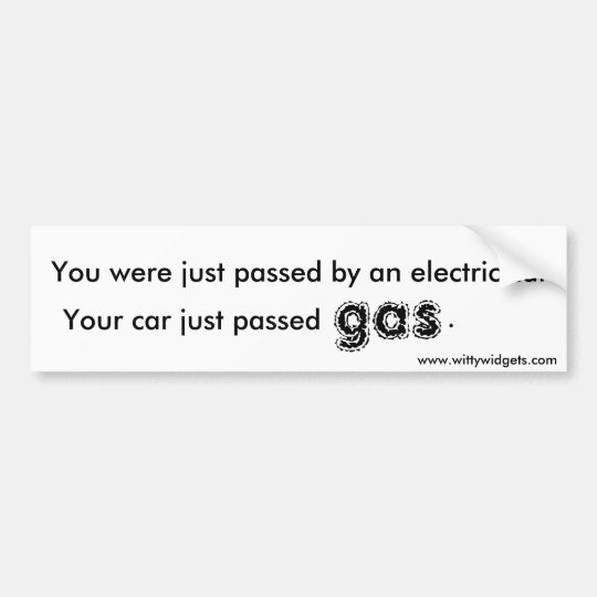 Passing Gas Bumper Sticker