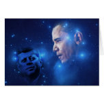 Passing of the Torch, John F. Kennedy Barack Obama Greeting Card