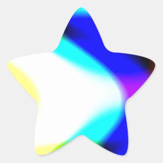 Passing Through Star Sticker