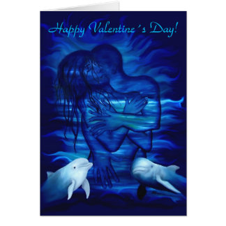 Passion act - pair with Dolphin pair Greeting Card