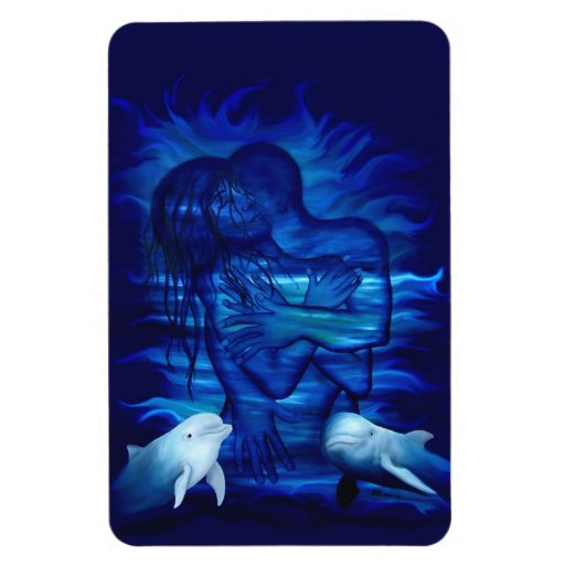 Passion act - pair with Dolphin pair Flexible Magnet