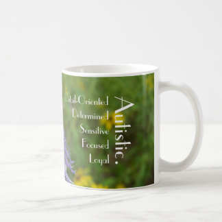 Passion Flower Autism Mug