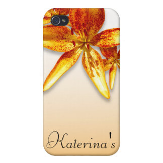Passion Flower Cases For iPhone 4