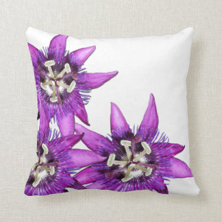 Passion flower cushion