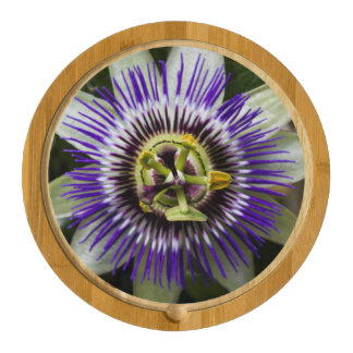 Passion Flower Cutting Board