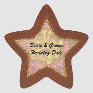 Passion Flower - Intense Passion Star Sticker