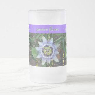 passion flower mug