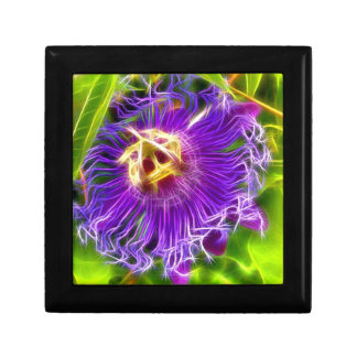 Passion flower or Lilikoi Small Square Gift Box